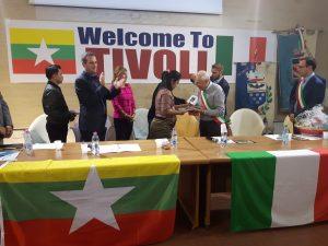 effe erre congressi delegazione birmana