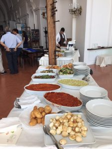 catering meeting napoli