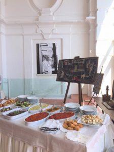 catering eventi palazzo donna anna