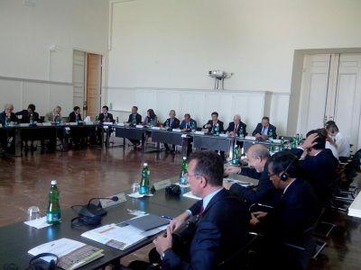 Second China-Europe Round Table delegazione scuola nazionale amministrazione caserta