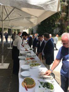 Villa Pignatelli catering