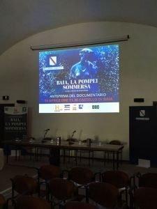 "Anteprima Documentario ""Baia, la Pompei Sommersa"" effe erre congressi"