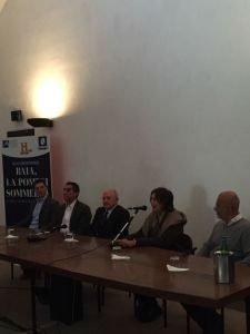 conferenza stampa castello di baia napoli