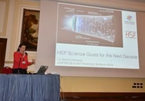 Joint WLCG & HSF Workshop infn effe erre congressi napoli