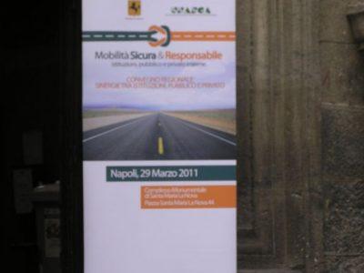 """Convegno Regionale """"Mobilità sicura e responsabile"""" effe erre congressi"""