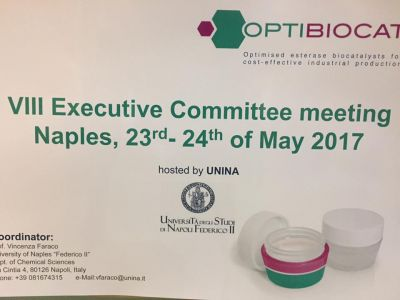 VIII Executive Committee Meeting Optibiocat effe erre congressi napoli