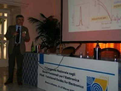 Functional Oxide for Electronics sorrento effe erre congressi