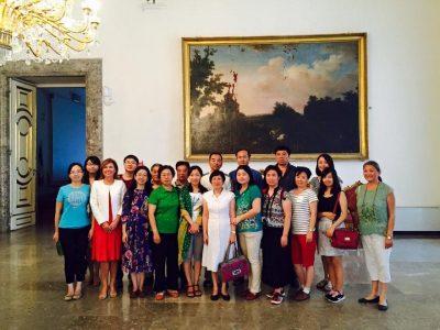 Delegazione del Partito Comunista Cinese in visita a Roma scuola nazionale amministrazione roma