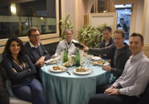 Joint WLCG & HSF Workshop social dinner effe erre congressi napoli