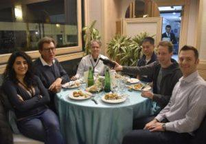 Joint WLCG & HSF Workshop social dinner effe erre congressi napoli