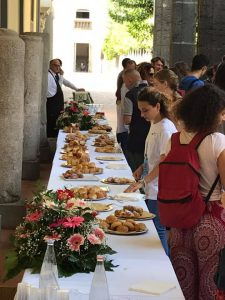 International Welcome Days Federico II effe erre congressi catering