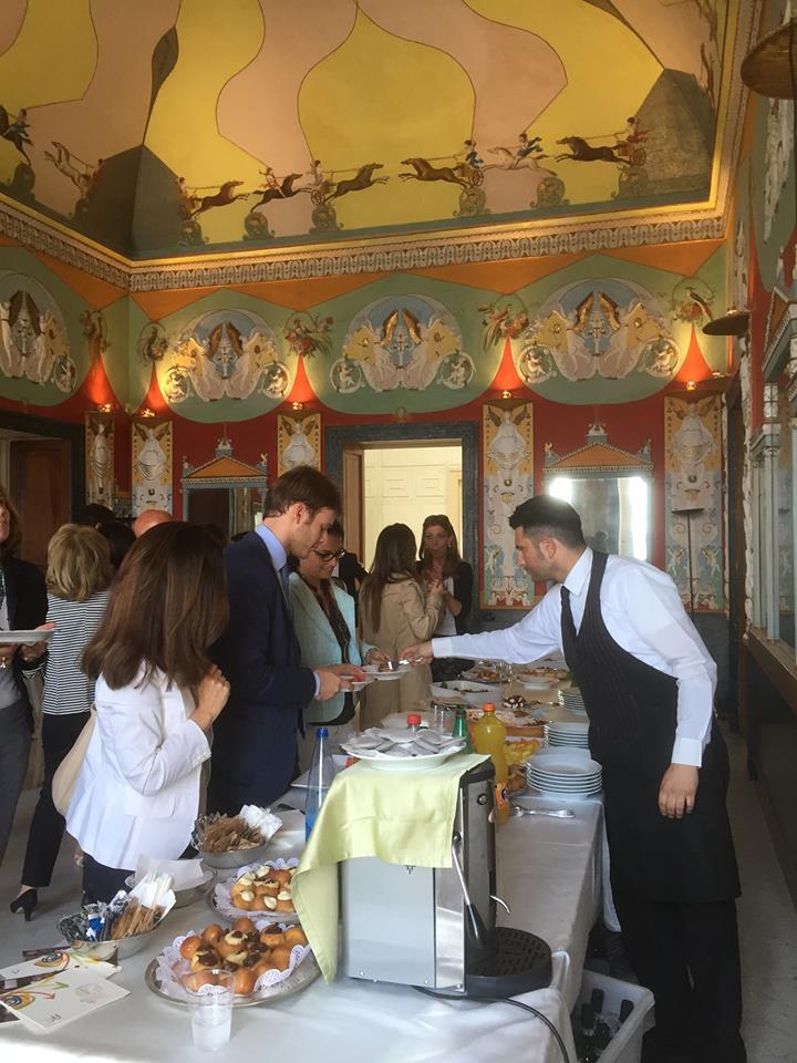 catering banchetto villa doria