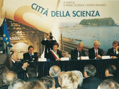 inaugurazione città della scienza 2001